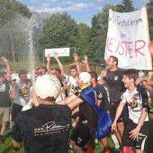 Perfektes Timing beim FC Lingenau