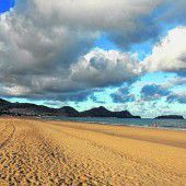 Sandstrand in Porto Santo