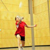 Badminton-Turnier mit internationaler Elite