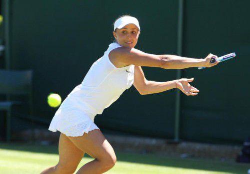 Tamira Paszek kämpfte sich erfolgreich in Wimbledon in den Hauptbewerb.