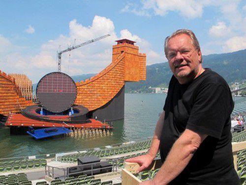 """Michael Volle singt bei der Schubertiade und übernimmt die vier bösen Rollen in """"Hoffmanns Erzählungen"""" bei den Festspielen. Foto: JU"""