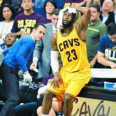 Cavaliers liefen in eine schlimme Finalpleite