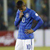 Neymar rastet bei der Copa aus