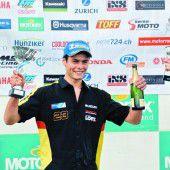 Mathias Beck mit zwei Siegen