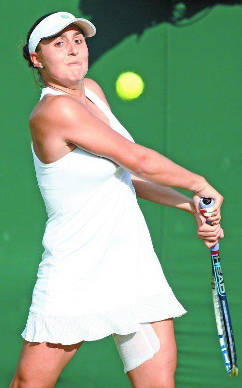 Qualifikationsrunde zwei ist erledigt: Tamira Paszek. Foto: gepa