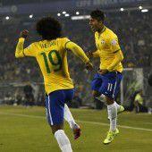 Brasilien ohne Neymar weiter