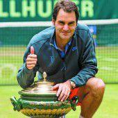 Federer reiht Titel an Titel