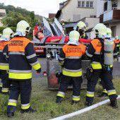 Feldkirchs Feuerwehren probten den Ernstfall