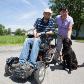 Auch im Rollstuhl ist das Leben für mich lebenswert