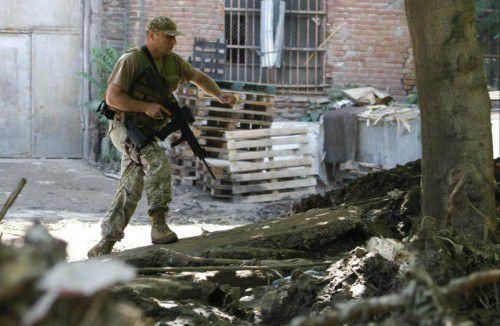 Sicherheitskräfte erschossen nach der Attacke das Raubtier.  Foto: AP
