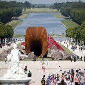 Erregung wegen Kunst von Kapoor in Versailles