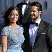 Prinz Carl Philip und Sofia Hellqvist