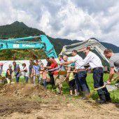Baustart für Feriendorf in St. Gallenkirch