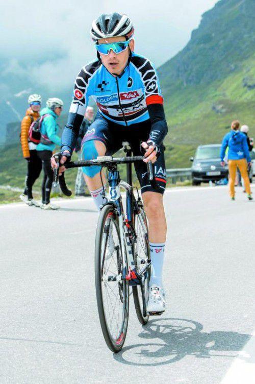 Stefan Denifl ist für die Österreich-Rundfahrt fit. Foto: stiplovsek