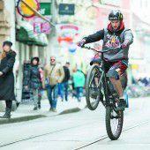 Radsportspektakel in der Alpenstadt