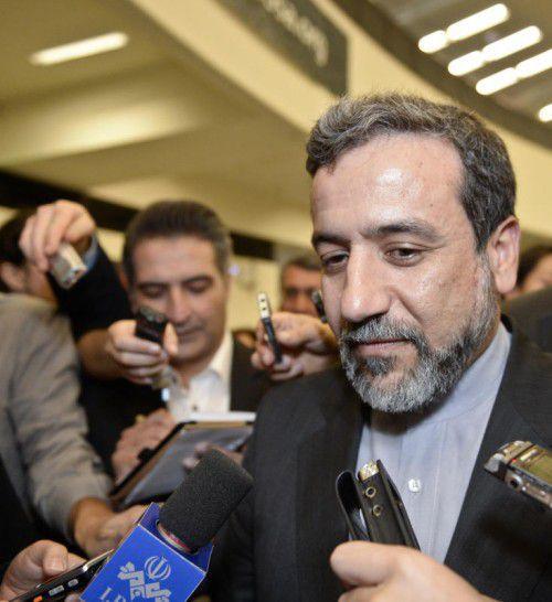 "Verhandler Abbas Araqchi hofft auf die ""Hilfe Gottes"".  FOTO: APA"