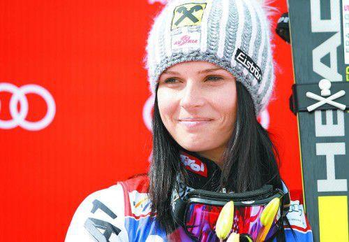 Versöhnung mit dem Skiverband: Anna Fenninger. Foto: gepa