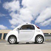 Selbstfahrende Google-Autos