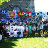 Riesenfest für den Frieden