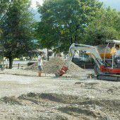 Ersatzparkplatz für Bregenz