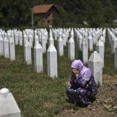 Gedenken an Srebrenica