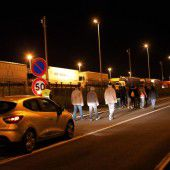 Flüchtlingsdrama am Nadelöhr Eurotunnel