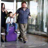 Die erste Reise von Ai Weiwei galt dem Sohn
