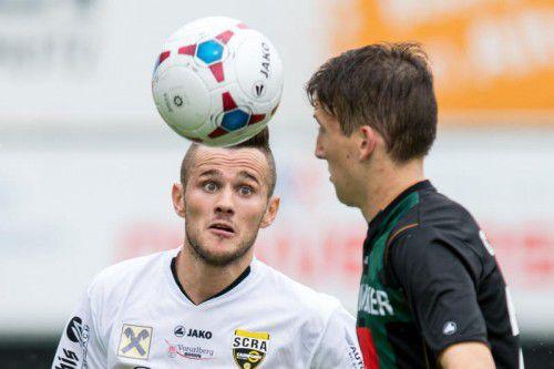 Auf Tore von Danijel Gasovic hofft man im Lager der Altacher Amateure gegen den FC Kufstein.