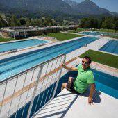 Badevergnügen wird im Walgaubad ausgedehnt