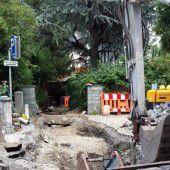 Schillerstraße für den Verkehr teils gesperrt