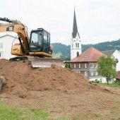 Start für Wohnanlage Lindohus in Lingenau