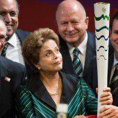 Olympia-Fackel für Rio 2016 wurde vorgestellt