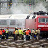 Brand legt in München Bahnverkehr lahm