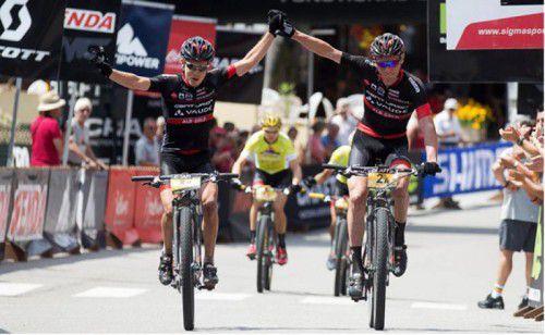 Der Dornbirner Daniel Geismayr (r.) feierte zwei Etappensiege.