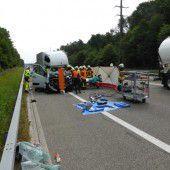 Vorarlberger Lkw-Lenker in Unfall bei Wil verwickelt