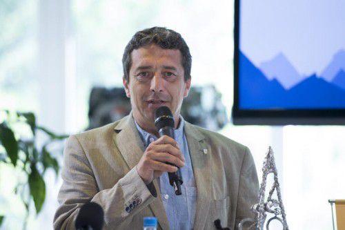 Der neue Direktor der Ö-Tour Wolfgang Weiss. Foto: gepa