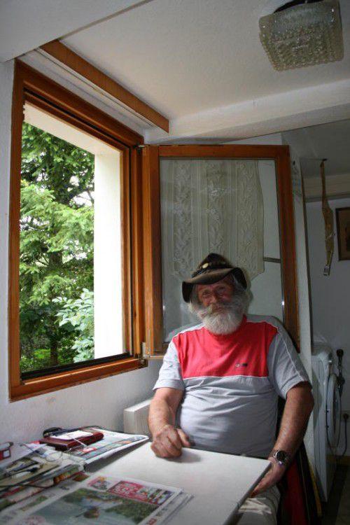 Der Pensionist Jimmy Jeitler möchte die drei Jahre im Tiroler Erziehungsheim Kleinvolderberg vergessen können.