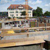 Bauarbeiten gehen voran