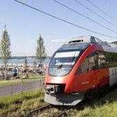 Vorarlbergs Züge rattern auf den ersten Platz