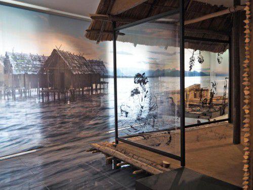 Die prähistorischen Pfahlbausiedlungen rund um den Bodensee sind UNESCO-Welterbe.