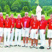 Senioren von Rankweil und Braz neue Meister