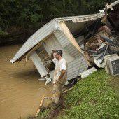 Drei Tote nach Sturzfluten