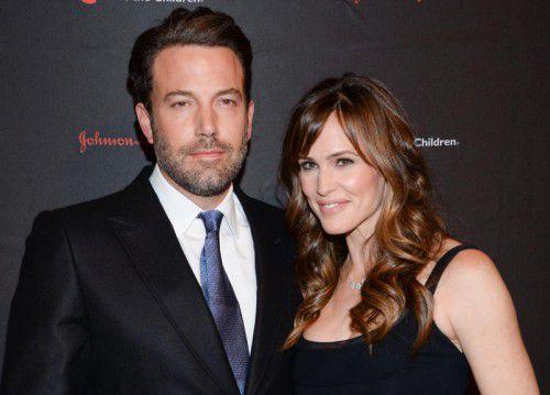 Ben Affleck und Jennifer Garner haben drei Kinder. Foto: AP
