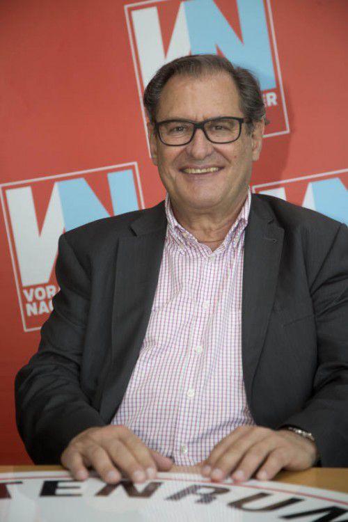Vorsorgemediziner Hans Concin äußert sich kritisch zur Impfverteilung.vn/rp