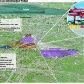 Pläne für Megabetriebsgebiet
