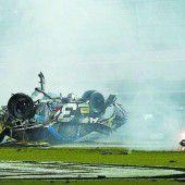 Glück im Unglück in Daytona