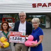 Spar Fußach spendet 1200 Euro