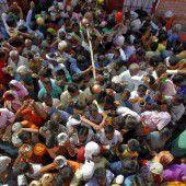 Opfergaben für den Hindu-Gott Shiva