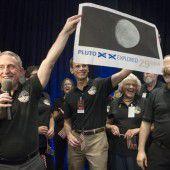Erstmals Pluto erreicht
