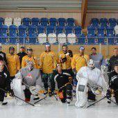 Schwitzen für die neue Eishockeysaison